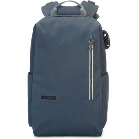 Pacsafe Intasafe Laptop Backpack 20l Navy Blue
